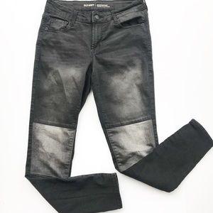 Old Navy Rock Star Mid Rise Stowaway Jeans Denim 4